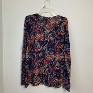 Talbots Woman Button Front Sweater. Size 1X